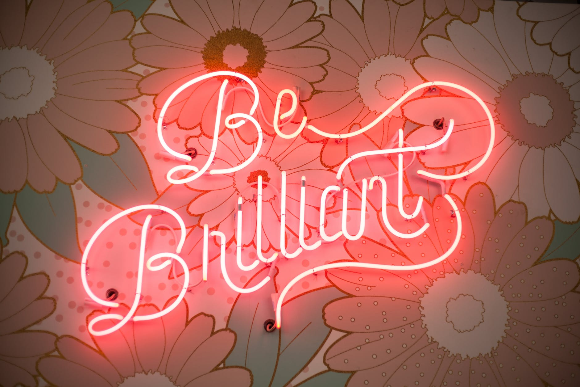 Be Brilliant Neon_pexels-photo-2002719
